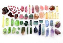 Rocks stones crystals