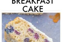 Healthy paleo blueberry lemon cake