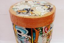 The Cyclick Path / Decorative &Storage Boxes  100% handmade & upcycled