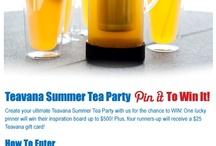 Teavana Summer Tea Party / by Margarita Maria