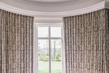 Curtains / A beautiful collection of curtains for homes, available for purchase at Teasel Fabrics & Interiors.