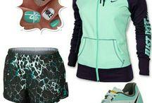 Nike! & under armor