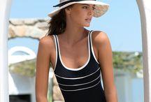 """MAILLOTS BLACK CHIC / Le noir est intemporel, découvrez la sélection de maillots de bain  pour femme """"Black Chic Livia"""".  Maillots de bain une pièce, bikinis, paréos, tuniques, toutes les pièces pour créer votre look de plage sont sur www.livia.com"""