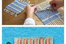 weaving and other yarn crafts