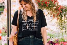 Summer Fun & Graphic Tees / Cute graphic tees and tanks to enjoy all year round!