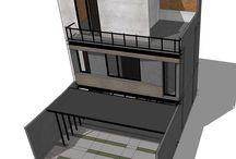 B shophouse / Programmatic : Commercial Location : Bandung, Indonesia   gubah ruang #gubahruang  www.gubahruang.com