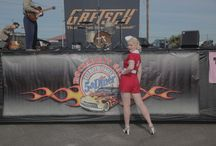 Rockabilly Bash 2014 / Drag Racing, Live Music, & Pinup Girls! Food Fun and Fifties all day long at Wild Horse Motorsports Park - Chandler, AZ.