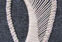 koronka igłowa - teneryfa