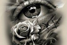 a-olhos