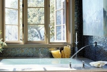 Gorgeous Bathrooms / The GBM mosaics and Tiles are a budget friendly, beautiful option for adding accent and diversity to any home improvement project whether it be the kitchen, bathroom, or anywhere in your home.