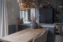 idee keuken/ eiland tafel