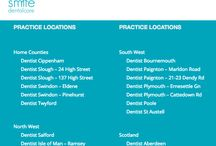 Our Practices / Find our closest practice to you and come on in for a check up! Visit our website for more details