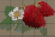 Cross Stitch-Fruits & Vegetables /