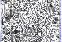 Zentangle, Doodles & Such / by Melanie Richards