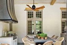 outdoor porches/kitchens