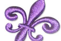 Mardi Gras Embroidery Designs