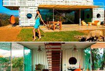 Sustainable house - Casas Sustentáveis / Casas verdes, casas ecoeficientes, casas sustentáveis, casas ecológicas, bioarquitetura