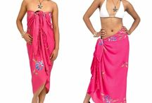 Pretty in Pink / Pink sarongs can be very feminine, super subtle, or wildly bold--however you choose!