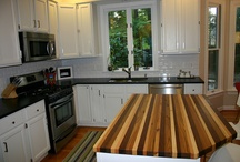 Wood Countertops / Reclaimed Wood Countertops by Old Growth Riverwood