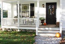 Amerikansk porch till vår kortsida