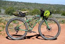 Bikes, bikes, bikes.