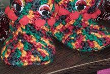 mis lanas / Estos son algunos de mis trabajos