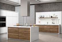 Modern Contemporary Custom Kitchen Cabinets