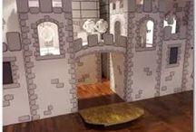 Come costruire un castello di cartone