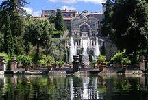 Tivoli gardens / Italian Style Gardens