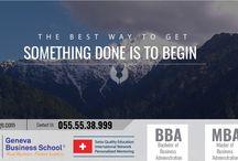 Geneva Business School for BBA / MBA