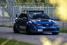 Subaru / Ta tablica jest na temat marki Subaru. Na tej tablicy w szczególności jest model Impreza.