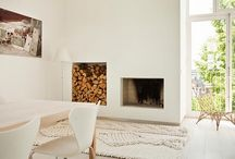fireplaces / by frieda 's favorites