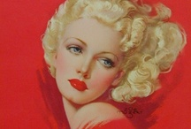 Pearl, Joyce & Zoe / Celebrating the art of 3 prolific and fabulous pin-up artists, who were women.
