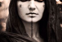 Makeup || facepaint || shaman