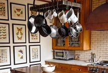 Saucepan hanging solutions