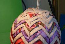 Karácsonyi ötletek textilből/Fabric Christmas
