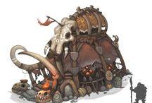 Orcs environment