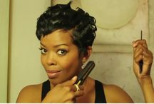 Short relaxed hair care / Hair care tips for short hair