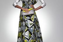 African inspired special occasion gowns