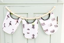 Musje Amsterdam / Swaddles & bibs with lovely unicorns, flamingo's and more!