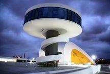 Avilés - Oscar Niemeyer / More about Oscar Niemeyer in: http://www.telva.com/blogs/first-class/2012/12/08/aviles-persiguiendo-la-obra-de-oscar.html