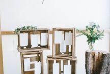 Hochzeit - Sitzkarten