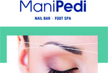 Threading at ManiPedi Nail Bar / Threading available at all 5 of our stores......  Pics and info to follow soon  www.manipedi.co.za