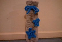 Crochet- Made by Melly / I love funky crochet things, I only ever knew 2 stitches so I played around and learned some more :)
