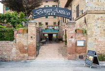 Lucignano d'Arbia / Una piccolo paesino medievale, dove tranquillità e relax ne fanno da padrone !