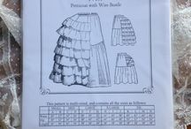 Undergarment Patterns / Sewing patterns for undergarments from 1795 to 1920
