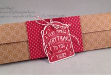 My Stampin' Up! Giftbox Creations
