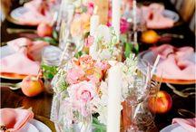 Peach & Gold Dreamy Wedding