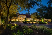 Landscape Lighting|The Woodlands / Landscape Lighting in The Woodlands TX by Light It Right. Photography Courtesy of Zvoknovic Photography