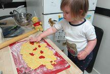 Kiddo in the kitchen
